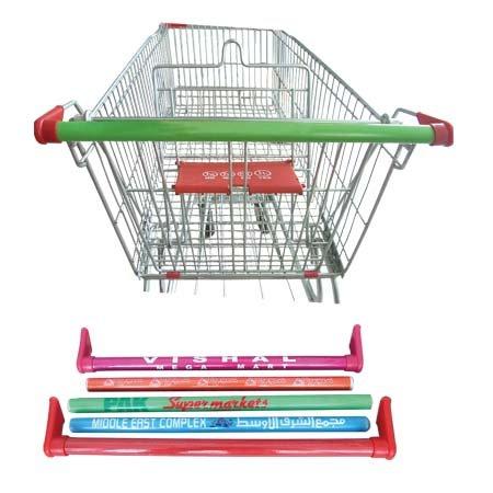 Supermarket Trolley With Swivel Rubber Wheels Buy