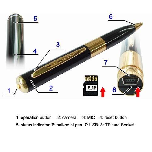 Video Recorder Manual Ball Point Pen Type En Francais