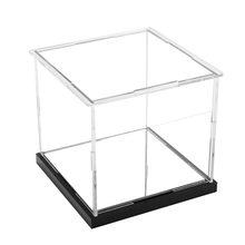 10X10X12 см Акриловая Пылезащитная коробка дисплей коробка с зеркальной основой/или нет для Funko Pop-прозрачный(Китай)
