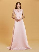 Женское кружевное вечернее платье с блестками, серебристое ТРАПЕЦИЕВИДНОЕ платье в пол, вечерние платья без рукавов(Китай)