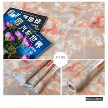 Толстые мраморные обои самоклеющиеся обои водонепроницаемые кухонные шкафы из ПВХ водонепроницаемые и маслостойкие кухонные обои(Китай)