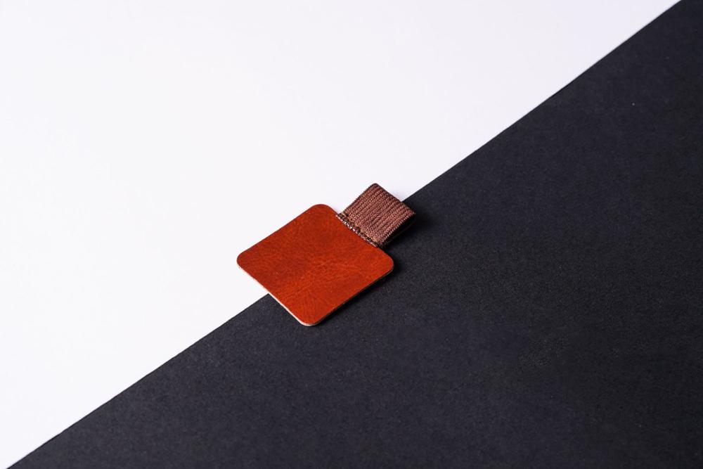 2020 2 шт Sharkbang самоклеящаяся ручка из искусственной кожи ручка для записной книжки держатель для дневника планировщик зажим аксессуары для ш...(Китай)