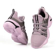 LIN KING мужские и женские рабочие ботинки, Дышащие Трикотажные рабочие ботинки с защитой от проколов и стальным носком, спортивные кроссовки, ...(Китай)