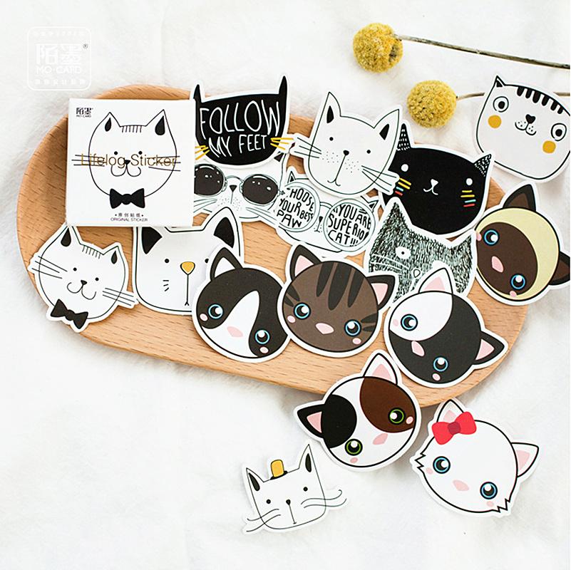 Новинка 2020, Нежный белый кот, блокнот для заметок, закладки, креативные Липкие заметки, планировщик, Канцтовары, школьные принадлежности, ка...(Китай)