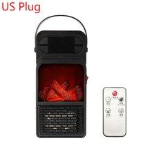 900 Вт удобный огневой нагреватель дистанционное управление мини электроотопительный прибор тепловентилятор вентилятор Радиатор Отоплени...(Китай)