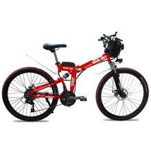 YTL складной электрический велосипед со съемной 48V 10Ah литий-ионный Батарея легкий, фара для электровелосипеда с 350W Мощный мотор(Китай)