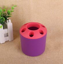 6 отверстие подставка для ручек подставка для студентов офисные принадлежности Настольный органайзер для хранения аксессуары для ванной к...(Китай)
