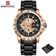 NAVIFORCE новые мужские часы, роскошные Брендовые спортивные часы, мужские кварцевые часы, мужские военные наручные часы, подарки для мужчин(Китай)