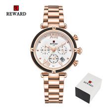 Роскошные модные женские часы, водонепроницаемые повседневные кварцевые женские часы, женские часы под платье, женские наручные часы, Relogio ...(China)