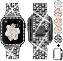 Ремешок для часов Apple Watch 5 4, ремешок 42 мм 38 мм из нержавеющей стали iwatch 5 4, ремешок для часов, аксессуары для часов 44 мм 40 мм(Китай)