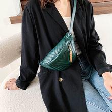 Новая модная женская сумка-мессенджер, Кожаная поясная сумка, дорожная маленькая поясная сумка для девушек, Женская мини-сумка на плечо(Китай)