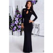 Женское вечернее платье с блестками 2020 нового размера плюс, платье русалки для выпускного вечера, вечернее платье с длинными рукавами абрик...(Китай)