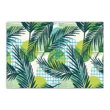 Ковер с тропическими листьями Silstar Tex, большой летний нескользящий напольный коврик для гостиной, спальни, кухни(Китай)