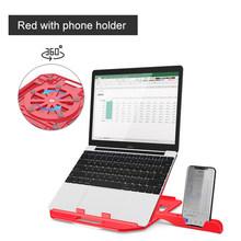 Портативная Регулируемая подставка для ноутбука Macbook Air Pro, складная подставка для ноутбука, подставка для планшета, охлаждающий Настольный ...(Китай)