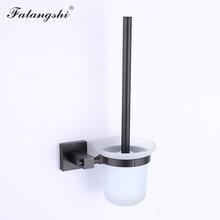 Алюминиевые аксессуары для ванной комнаты, черный держатель для полотенец, кольцо для полотенец, фен, настенный держатель для туалетной бум...(Китай)