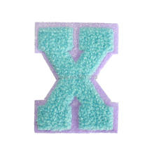 Алфавит моды 26 букв патч на ткани вышивка одежды наклейки сумки обувь шляпы ручной работы ткани DIY аксессуары для одежды(Китай)