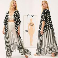 Женское пляжное платье-парео, Пляжное платье с цветочным принтом, хлопковая туника, летнее пляжное платье, N653, 2020(Китай)