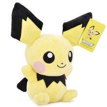 Pikachu Charmander Squirtle Bulbasaur Eevee плюшевая кукла Snorlax Jigglypuff Gengar Lapras мягкие игрушки подарки для детей(Китай)