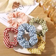 Модные резинки для волос, одноцветные эластичные повязки на голову, веревка для девушек, женские резинки для волос, кольцо, держатель для ко...(Китай)