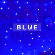 DUI новый звездный комнатный декоративный медный занавес СВЕТОДИОДНЫЙ цветной USB пульт дистанционного управления Водонепроницаемый струнн...(Китай)
