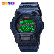 SKMEI Модные женские электронные часы женские цифровые наручные часы Секундомер Календарь спортивные часы reloj mujer Relogio Feminino(Китай)