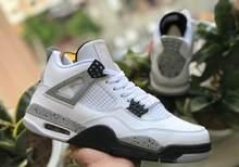 Оригинальные баскетбольные кроссовки для мужчин 2020 Bred Black 4 4s s White Fire Red тонкие кроссовки IV Pure Money спортивная обувь для тренировок(Китай)