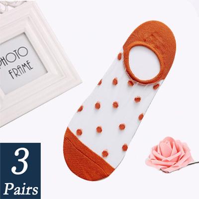 Женские носки до лодыжки, прозрачные невидимые летние носки, не показывают лодыжки, Короткие кружевные носки, Нескользящие сетчатые прозра...(Китай)
