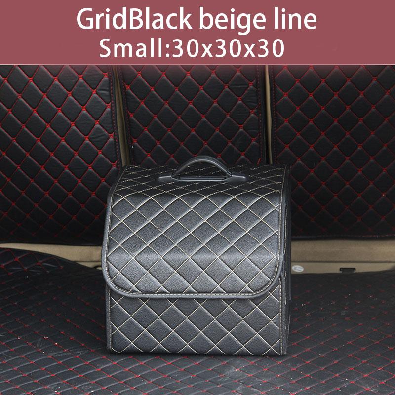 Многоцелевой органайзер для багажника автомобиля из искусственной кожи, Складной автомобильный багажник, коробка для хранения, сумки для х...(Китай)