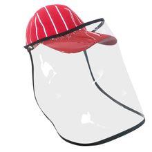 2020 новая бейсболка, защита от пятки, пылезащитный чехол для взрослых, полосатая Кепка, шапка Chapeu Feminino Verao(Китай)