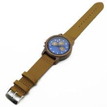 Мужские наручные часы s CURREN, спортивные часы синего цвета с кожаным ремешком, 2019(Китай)