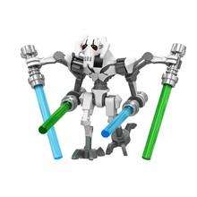 Звездные войны Супер битва K2SO Droid grivous Хан Зандер Solo Клон солдат модель строительные блоки игрушки техника подарок для детей(Китай)