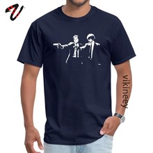 Крутые футболки с рукавами Супермена, летние и осенние футболки из хлопка, FADISH Yakuza, мужские футболки, Pulp Fiction Gun(Китай)