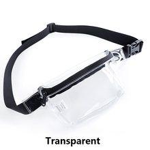 Холщовая поясная сумка TINYAT, повседневная сумка унисекс, сумка с карманами на плечо, талию, бедра, для путешествий, подходит для телефона разм...(Китай)
