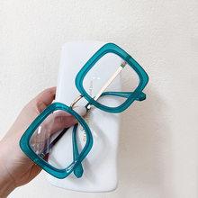 SO & EI модные квадратные женские очки, оправа, прозрачные линзы, очки, женские оптические очки, оправа для мужчин, анти-голубые очки(Китай)