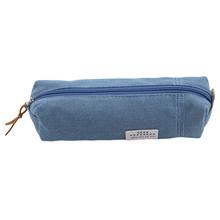 Милый тканевый чехол для карандашей на молнии Kawaii, вместительные сумки для ручек, милые сумки-карандаши для девочек, подарок, школьные прина...(Китай)