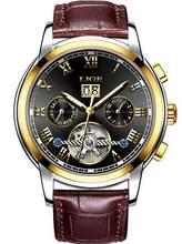 LIGE мужские часы 50 м водонепроницаемые автоматические механические наручные часы, мужские Модные деловые часы из нержавеющей стали с датой(Китай)