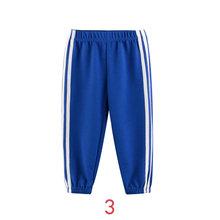 INPEPNOW/штаны в полоску для мальчиков и девочек, 9 цветов, 2020 г. Весенне-осенние детские брюки для мальчиков однотонные спортивные штаны Одежда ...(Китай)