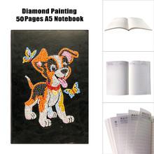 HUACAN 5D алмазная живопись блокнот Павлин специальная форма алмазная вышивка аксессуары алмазные художественные наборы животных(Китай)