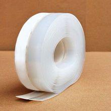 6 м уплотнительная полоса практичный напольный стикер прозрачная ветрозащитная силиконовая уплотнительная полоса для двери прочная Пылез...(Китай)