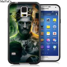 Мягкие резиновые чехлы MaiYaCa Conor McGregor для samsung Galaxy S5 S6 S7 edge S8 S9 S10 Plus Lite Note 9 8(Китай)