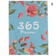 Планировщик Органайзер A4 записная книжка и дневники Сделай Сам 365 дней план записная книжка Kawaii ежемесячный недельный график записная книж...(Китай)