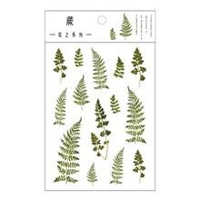 1 шт. милые цветочные наклейки прозрачная наклейка из ПЭТ украшения растений корейские наклейки Скрапбукинг журнал Ablum подарок детям(Китай)