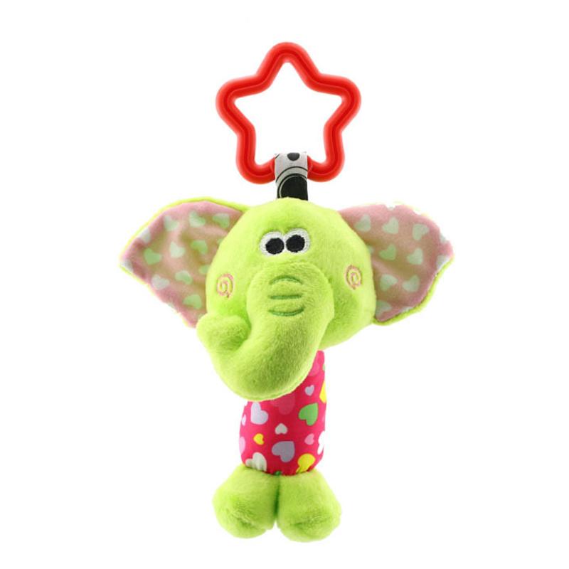 QWZ мультфильм детские игрушки 0-12 месяцев кровать коляска детские мобильные подвесные погремушки Новорожденные Плюшевые Детские Игрушки дл...(Китай)