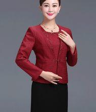 Женский винтажный офисный костюм OL, кружевной комплект из двух предметов, элегантный пиджак и модное платье-футляр, большие размеры(Китай)