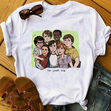 Винтажная Готическая летняя футболка с принтом Loser Lover, мягкая эстетичная футболка для девочек, женские футболки Harajuku, клубная одежда(Китай)