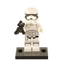 WM890 Dark Rey Legoinglys Звездные войны Минифигурки Poe Leias Kylos Ren Chewbaccaed Palpatined блоки наборы игрушки для детей(Китай)
