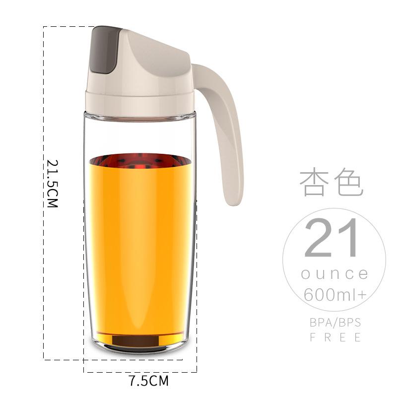 Креативная Новая автоматическая бутылка масла герметичная кухня многоцелевой открытие и закрытие прозрачный пыленепроницаемый и(Китай)