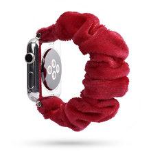 Женский эластичный ремешок для часов Apple Watch 38 мм/40 мм 42 мм/44 мм, Повседневный женский браслет для iwatch 4 3 2 1(Китай)