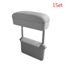 Подлокотник для автомобиля, регулируемый подлокотник для рук, аксессуары для авто, с органайзером, универсальный для обеих сторон(Китай)