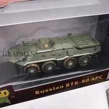 1/72 русский BTR-80 APC Танк СССР армейский Танк Платина Коллекционная собранная модель завершена модель Easymodel Toy(Китай)